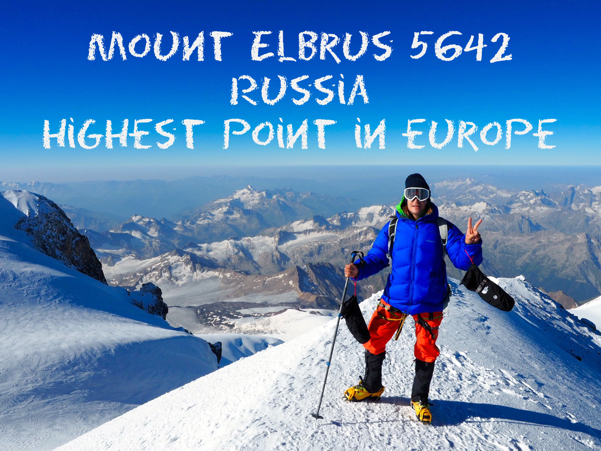 Wanna climb a really high mountain? Take your first of the Seven summits? Try Elbrus! It's hard but doable and if you ask me, not as touristic as Kilimanjaro and you won't meet your best friends grand mom.